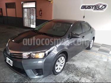 Toyota Corolla 1.8 XLi CVT usado (2015) color Gris Oscuro precio $549.900