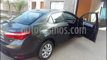 Foto venta Auto Usado Toyota Corolla 1.8 XLi (2015) color Gris Oscuro precio $390.000