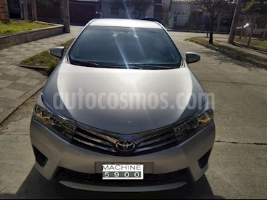 Foto venta Auto usado Toyota Corolla 1.8 XLi (2015) color Gris Oscuro precio $430.000