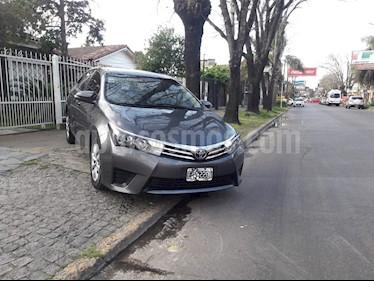 Toyota Corolla 1.8 XLi usado (2015) color Gris Oscuro precio $560.000