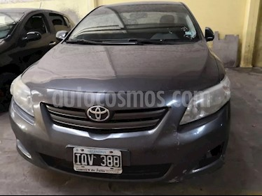 Foto venta Auto usado Toyota Corolla 1.8 XLi (2010) color Gris Oscuro precio $195.000