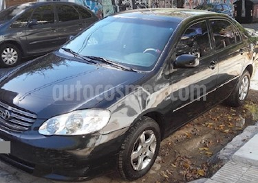 Foto venta Auto usado Toyota Corolla 1.8 XLi (2004) color Negro precio $166.900