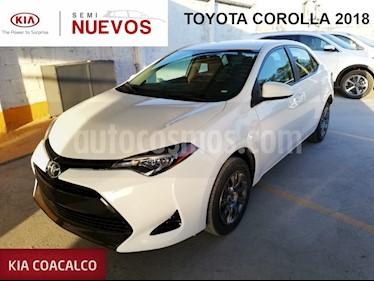 Foto venta Auto usado Toyota Corolla 4p Base L4/1.8 Aut (2018) color Blanco precio $229,000