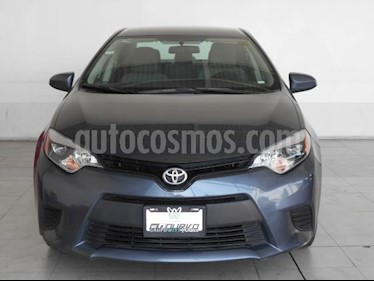 Foto Toyota Corolla 4p Base L4/1.8 Aut usado (2016) color Gris precio $199,000