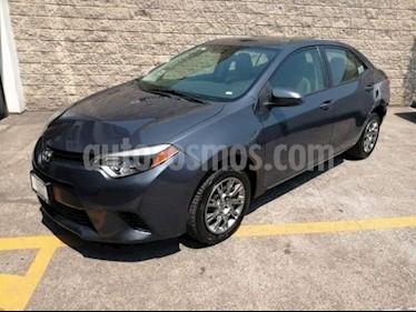 Foto venta Auto usado Toyota Corolla 4p Base L4/1.8 Man (2015) color Gris precio $205,000
