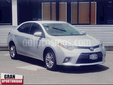 Foto venta Auto usado Toyota Corolla 4p LE L4/1.8 Aut (2015) color Plata precio $205,000