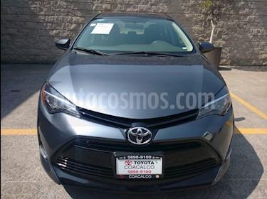 Foto venta Auto usado Toyota Corolla 4p LE L4/1.8 Aut (2017) color Gris precio $258,000