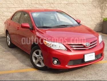 Foto venta Auto usado Toyota Corolla 4p XLE L4/1.8 Aut Q/C (2013) color Rojo precio $145,000