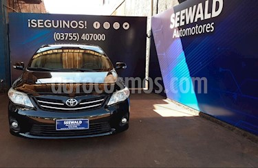 Toyota Corolla - usado (2013) color Negro precio $620.000