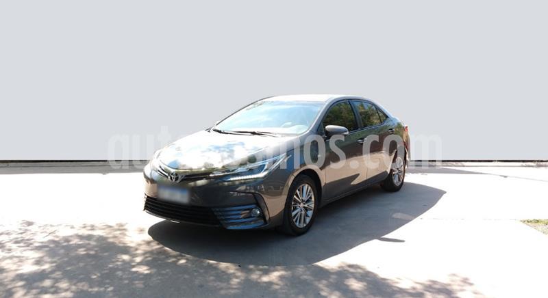 Toyota Corolla 1.8 XEi CVT usado (2018) color Gris Oscuro precio $1.950.000