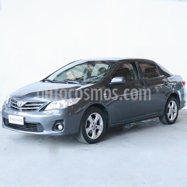 Toyota Corolla 1.8 XEi usado (2014) color Gris Oscuro precio $818.000