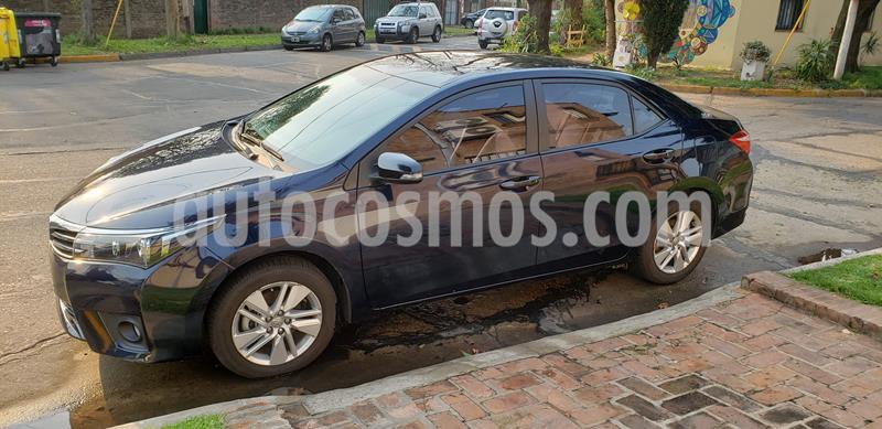 Toyota Corolla 1.8 XEi Pack Aut  usado (2016) color Azul precio $1.150.000