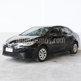 Toyota Corolla 1.6 XLi Aut usado (2017) color Negro precio $893.000