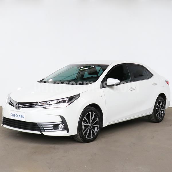 Toyota Corolla 1.8 SE-G CVT usado (2017) color Blanco precio $2.191.000