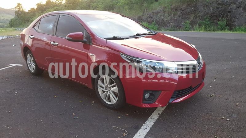 Toyota Corolla 1.8 XEi Pack usado (2014) color Rojo precio $1.070.000
