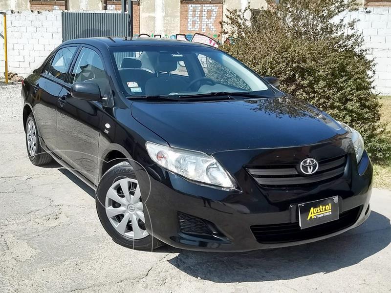 Toyota Corolla 1.8 XLi CVT usado (2009) color Negro precio $450.000