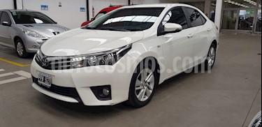Toyota Corolla 1.8 XEi CVT usado (2016) color Blanco precio $840.000