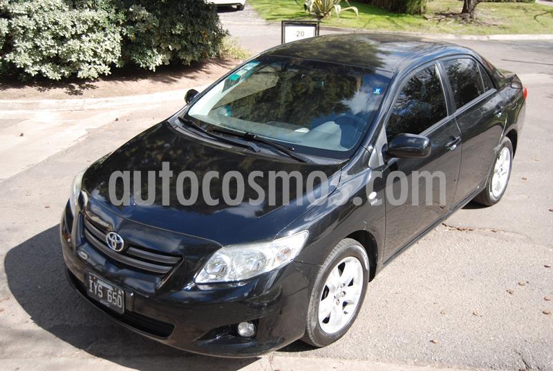 Toyota Corolla 1.8 XEi usado (2010) color Negro precio $495.000