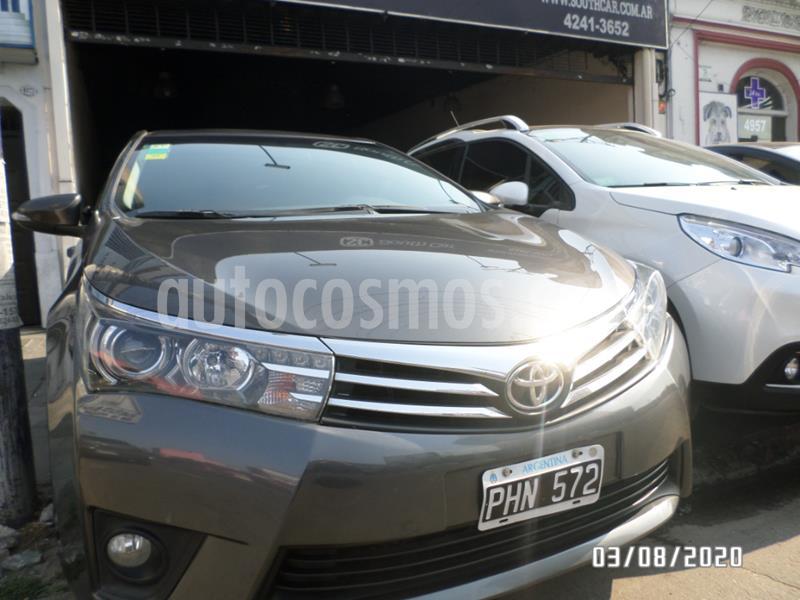 Toyota Corolla 1.8 XEi Pack Aut usado (2015) color Gris Oscuro precio $1.215.000