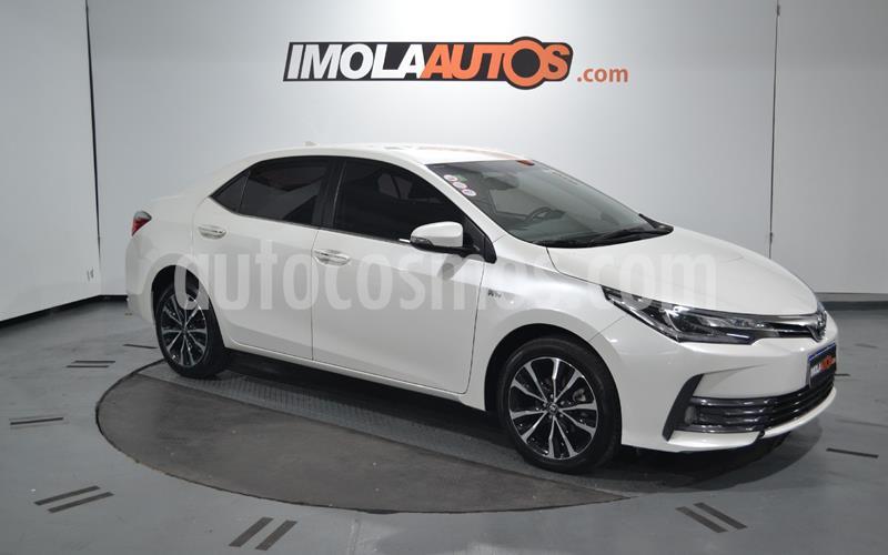 Toyota Corolla 1.8 SE-G Aut  usado (2018) color Blanco precio $1.800.000
