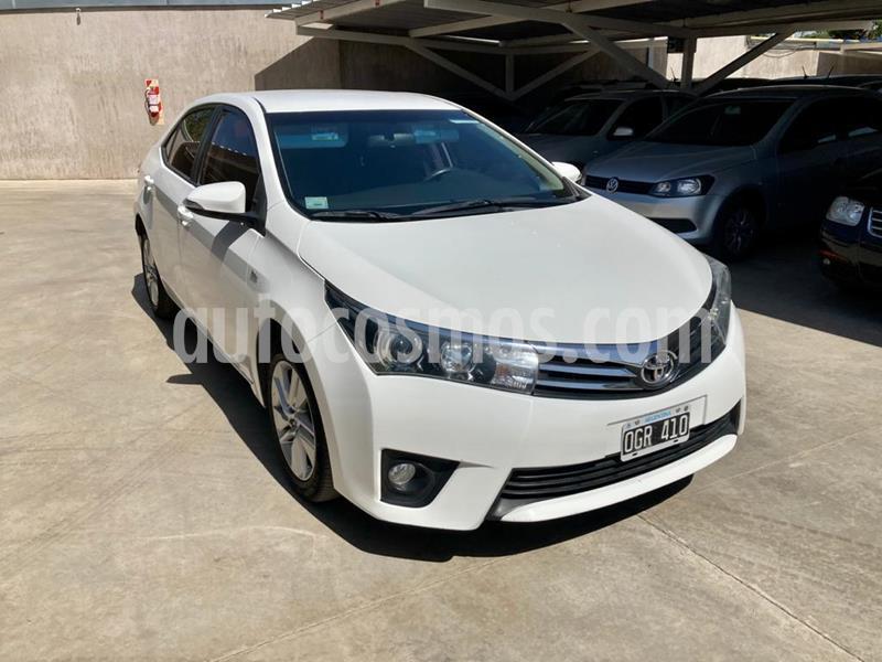 Toyota Corolla 1.8 XEi usado (2014) color Blanco precio $1.350.000