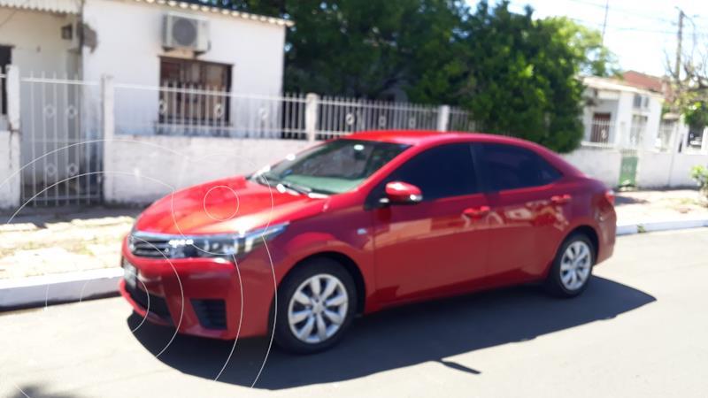 Toyota Corolla 1.8 XLi CVT usado (2015) color Rojo precio $1.380.000