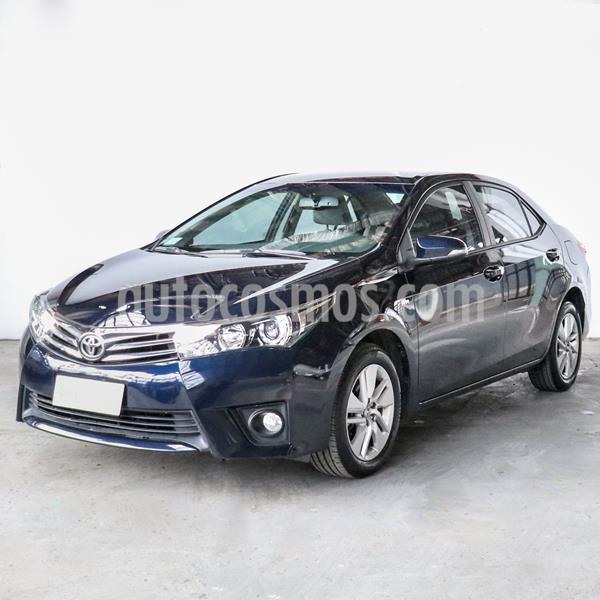 Toyota Corolla 1.8 XEi CVT usado (2015) color Azul precio $1.145.000