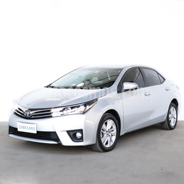 Toyota Corolla 1.8 XEi usado (2015) color Gris Plata  precio $1.166.300