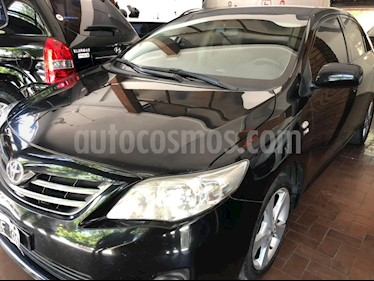 Toyota Corolla 1.8 XEi Aut usado (2012) color Negro precio $450.000