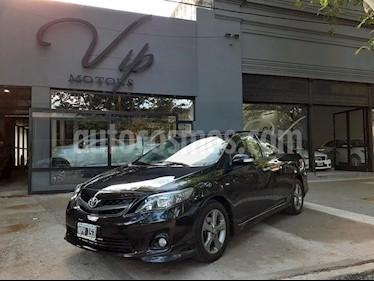 Toyota Corolla XRS usado (2014) color Negro precio $600.000