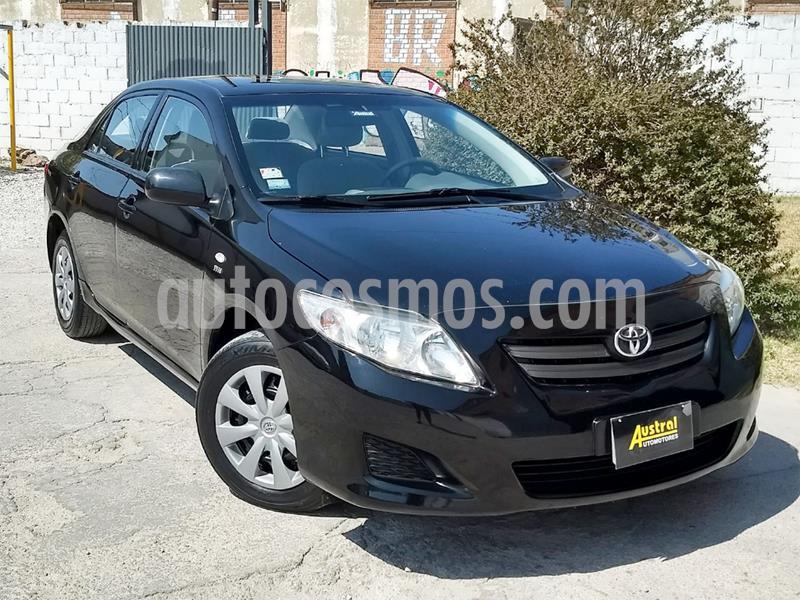 Toyota Corolla 1.8 XLi CVT usado (2009) color Negro precio $330.000