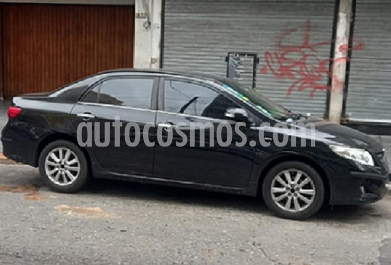 Toyota Corolla 1.8 SE-G Aut usado (2009) color Negro precio $685.000