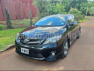 Toyota Corolla XRS usado (2013) color Negro precio $580.000