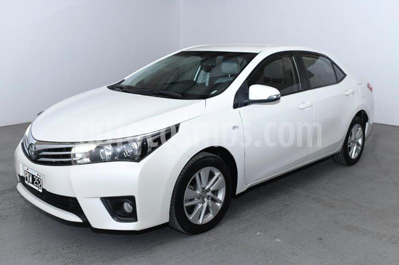 Toyota Corolla 1.8 XEi Pack Aut usado (2016) color Blanco precio $1.280.000