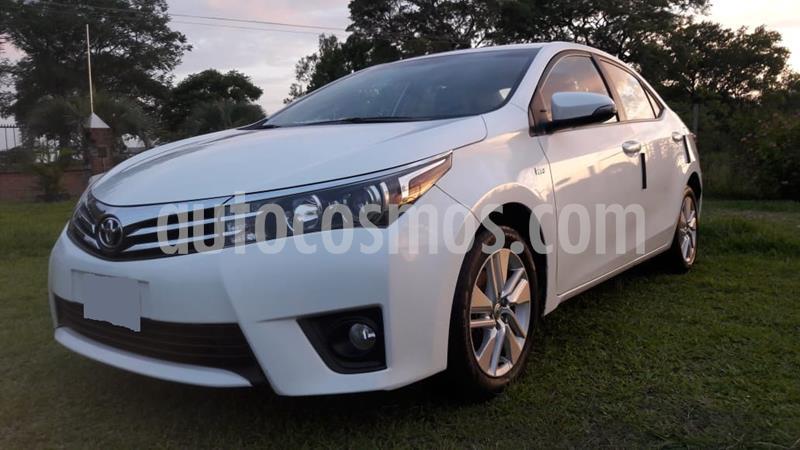 Toyota Corolla 1.8 XEi usado (2015) color Blanco Perla precio $980.000