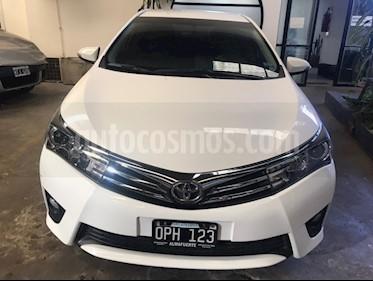 Toyota Corolla 1.8 XEi usado (2015) color Blanco precio $720.000