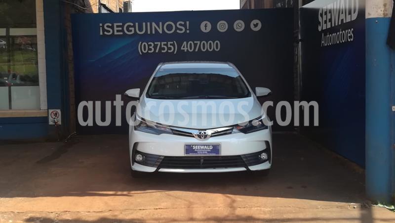 Toyota Corolla 1.8 Xei M/t Pack usado (2018) color Blanco precio $2.065.000