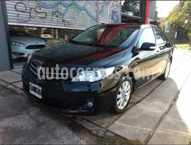 Toyota Corolla 1.8 SE-G Aut usado (2011) color Negro precio $890.000