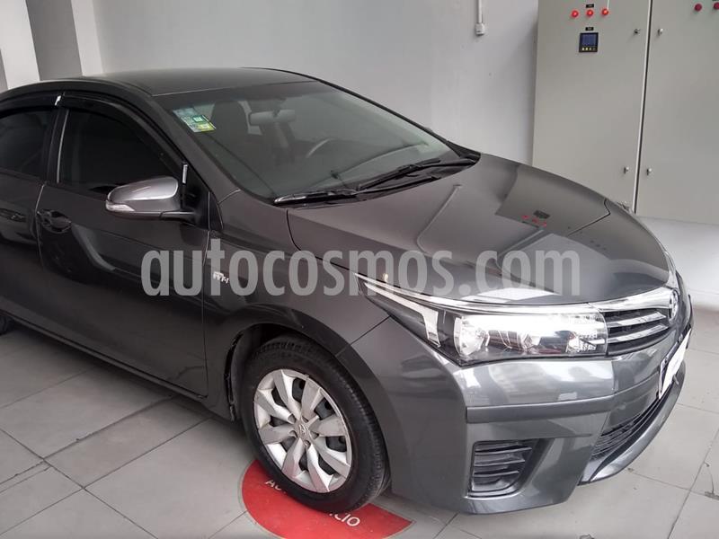 Toyota Corolla Xli usado (2015) color Negro precio $1.080.000
