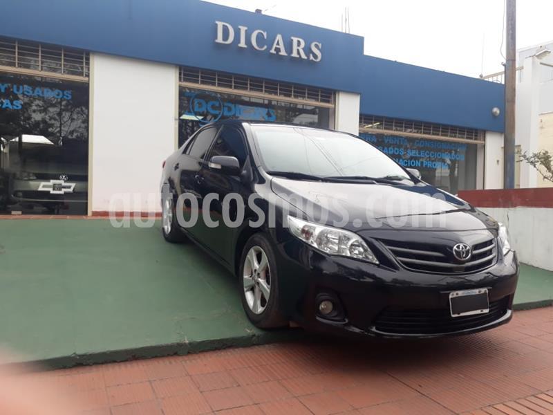 Toyota Corolla 1.8 XEi usado (2013) color Negro precio $1.020.000