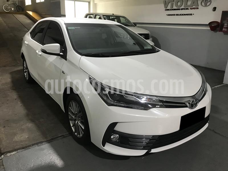 Toyota Corolla 1.8 XEi Pack usado (2018) color Blanco Perla precio $1.530.000