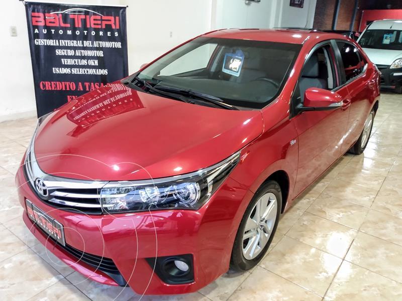 Foto Toyota Corolla 1.8 XEi Pack usado (2016) color Rojo precio $2.100.000