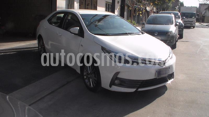 Toyota Corolla 1.8 XEi CVT usado (2017) color Blanco precio $1.249.900