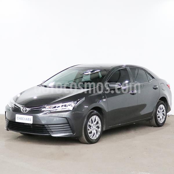 Toyota Corolla 1.8 XLi usado (2019) color Gris Oscuro precio $1.850.000