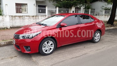 Toyota Corolla 1.8 XEi Pack usado (2015) color Rojo precio $1.200.000