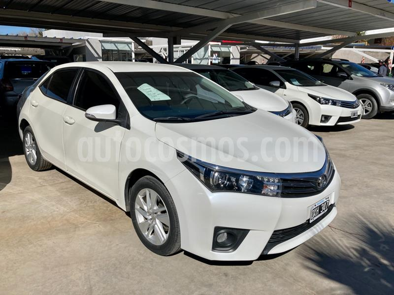 Toyota Corolla 1.8 XEi CVT usado (2015) color Blanco precio $1.490.000