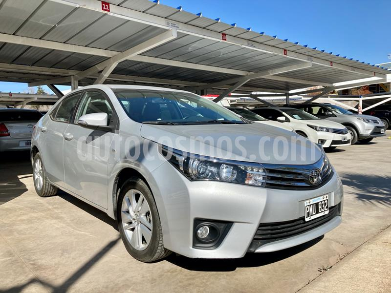 Toyota Corolla 1.8 XEi usado (2016) color Gris Claro precio $1.165.000