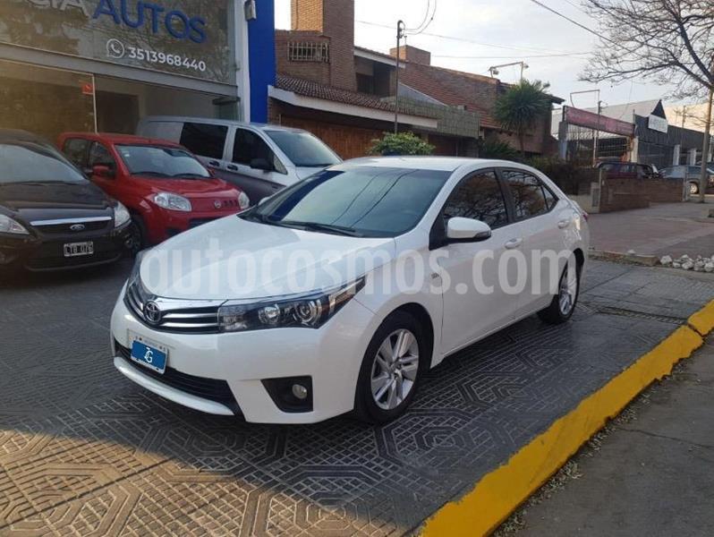 Toyota Corolla 1.8 XEi CVT usado (2015) color Blanco precio $1.450.000
