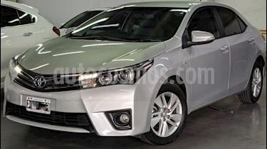 Toyota Corolla 1.8 XEi Pack Aut usado (2015) color Gris Claro precio $740.000
