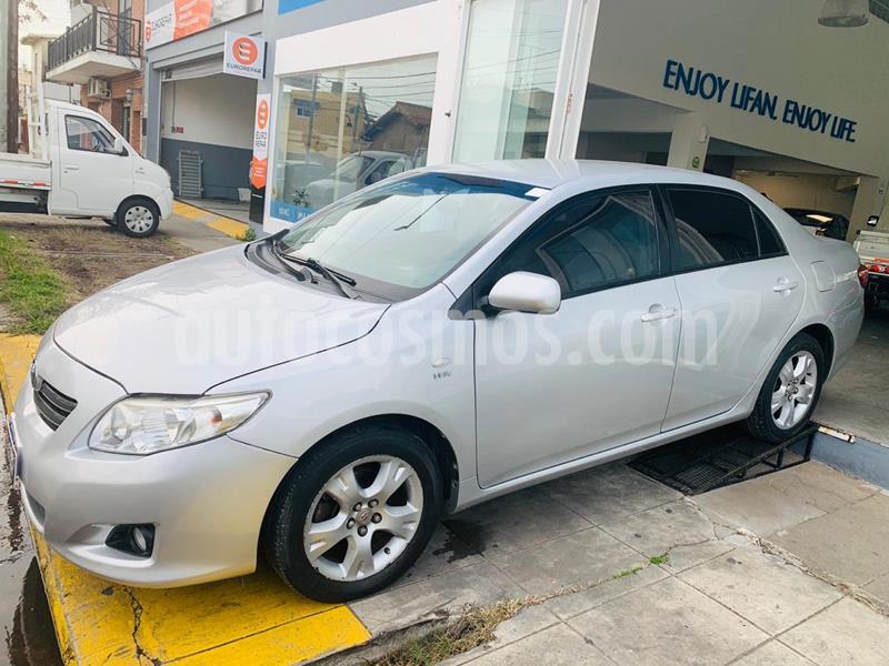 Toyota Corolla 1.8 XEi Pack usado (2009) color Gris Plata  precio $470.000
